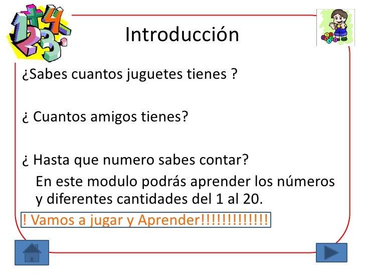 Módulo los numeros Slide 2