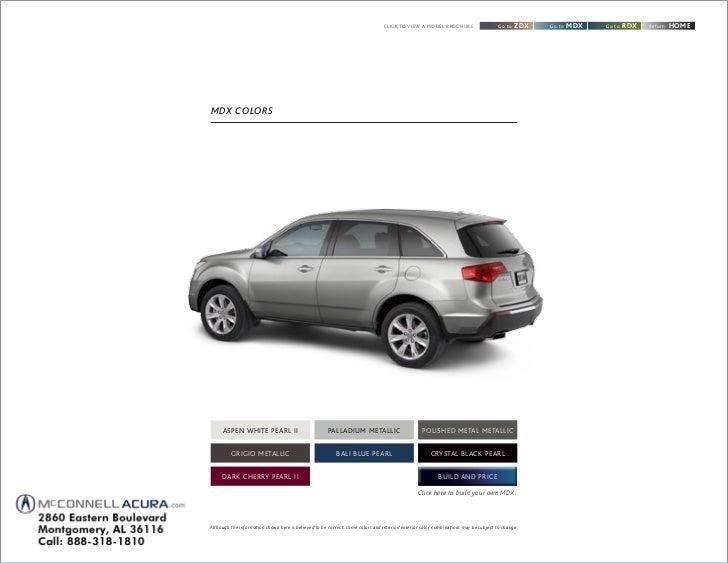 2012 acura mdx brochure montgomery alabama. Black Bedroom Furniture Sets. Home Design Ideas