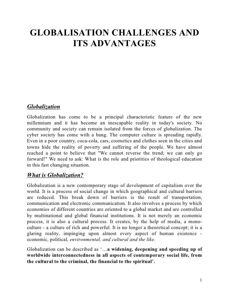 globalization of sports essay Ten new act essay question prompts  globalization (sample essay prompt 1)  evaluate multiple perspectives on college support for sports teams in your essay, be .