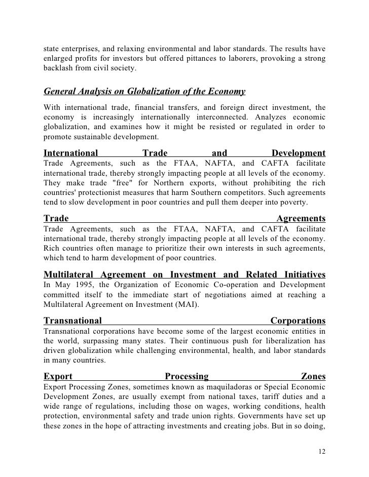 globalization, international trade and economic essay Links cultures and international relations on a variety of levels economics, politically, socially, etc international relations have used globalization to reach its goal: of.