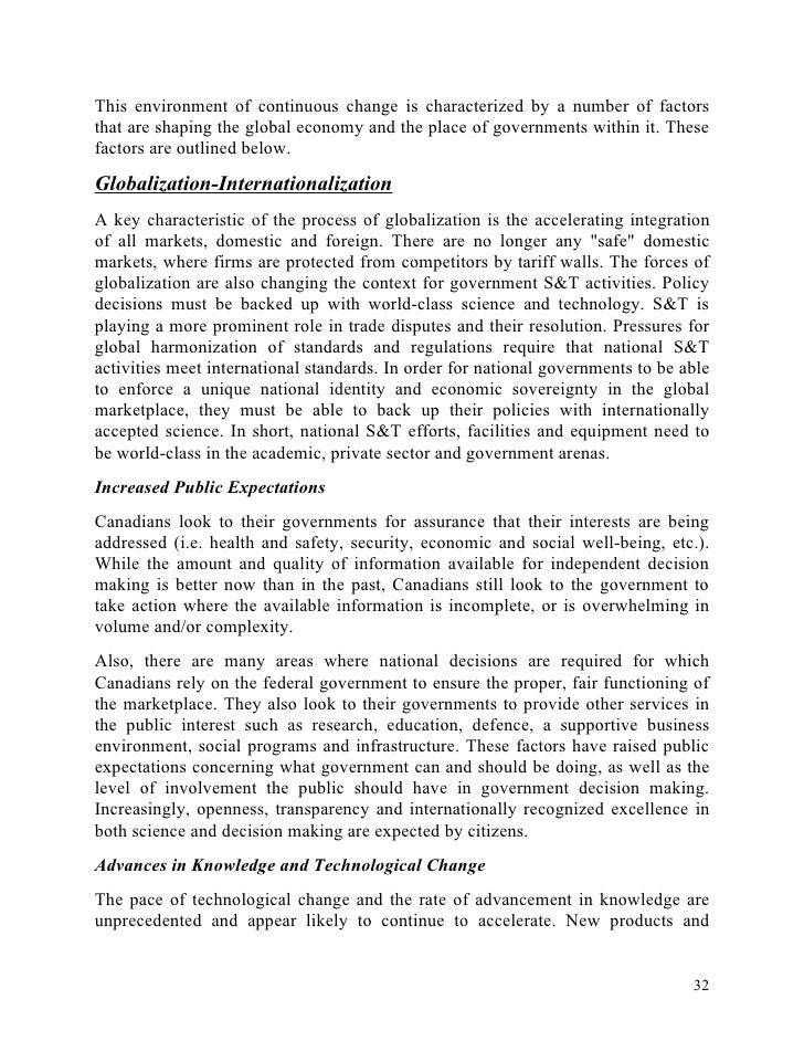 Costs and benefits of globalization essay