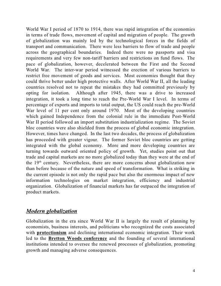 essay about the advantages and disadvantages of globalization Advertisements: let us make in-depth study of the meaning, advantages and disadvantages of globalisation meaning: by the term globalisation we mean opening up of the economy for world market by attaining international competitiveness.
