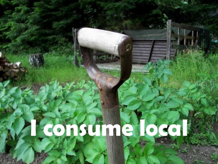 I consume local