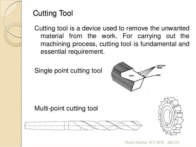 Machine Tool & Machining ME 210_2 Slide 2