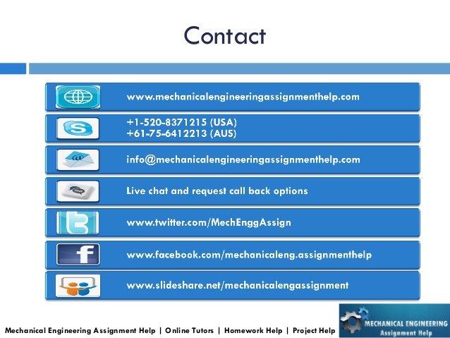 mechanical engineering assignment corporate presentation mechanical engineering assignment help online tutors homework help project help 5