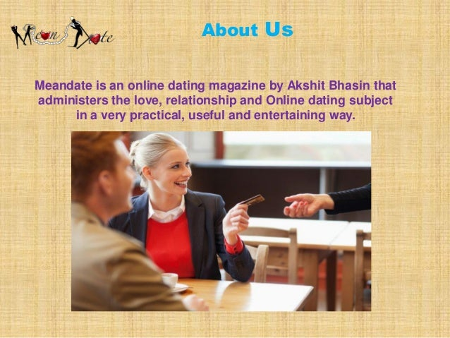 Online dating tips and advice for men