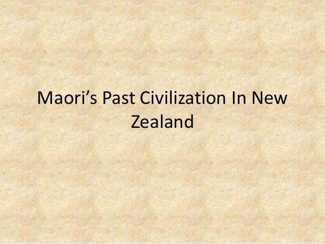Maori's Past Civilization In New Zealand