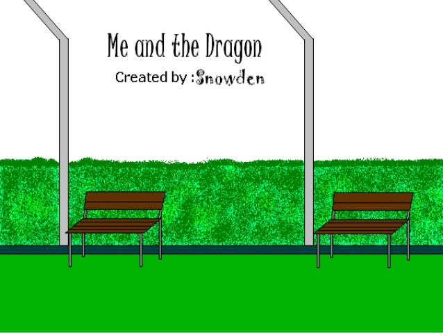 Me and the Dragon - COMIC STRIP - Created in MY PAINT