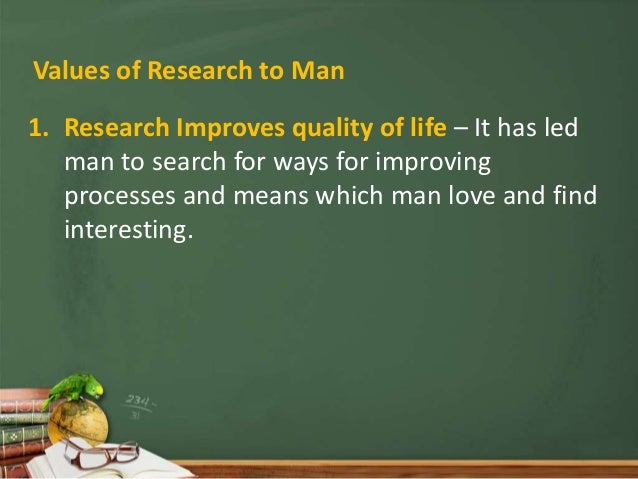 Meaning and characteristics of research