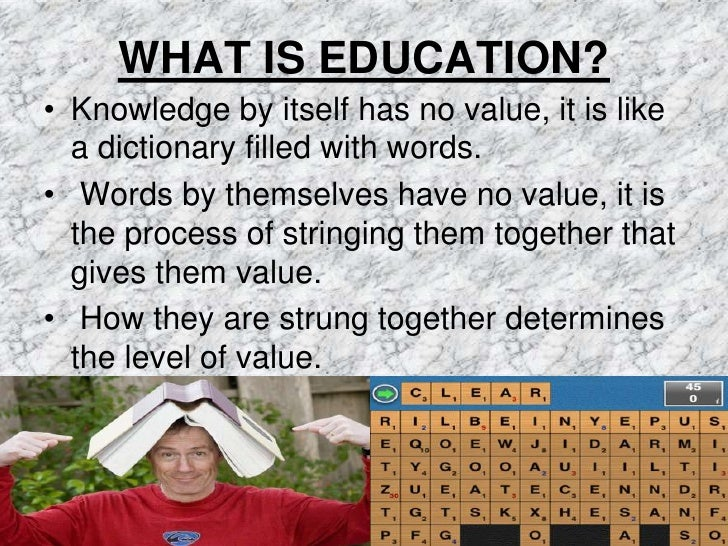 a definition of education Secondary education definition: education for pupils between the ages of 11 and 18 | meaning, pronunciation, translations and examples.