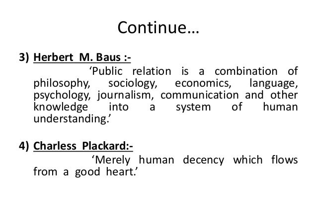 meaning of public relationship officer