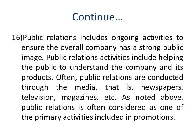The definition of rhetoric and its use in public relations
