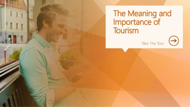Importance of tourism