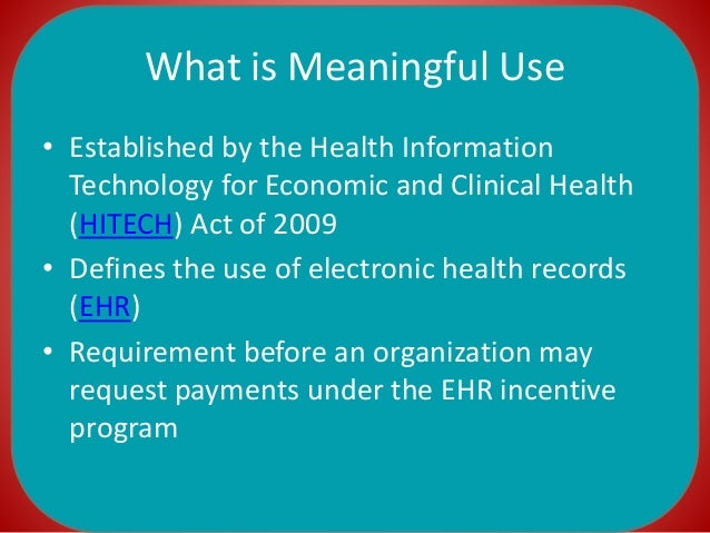 Meaningful use 2015