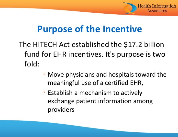 Meaningful use and Electronic Health Records