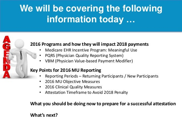 Meaningful Use: Programs, Penalities, and Payments