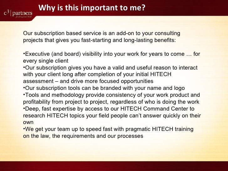 Meaningful Use Monitor For Consulting Firms Slide 3