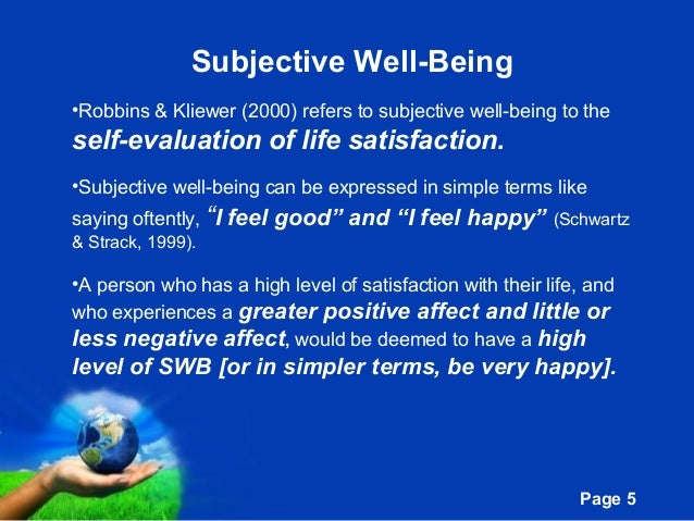 Meaning in life and subjective well being iciri 2012 5 free powerpoint templates toneelgroepblik Gallery