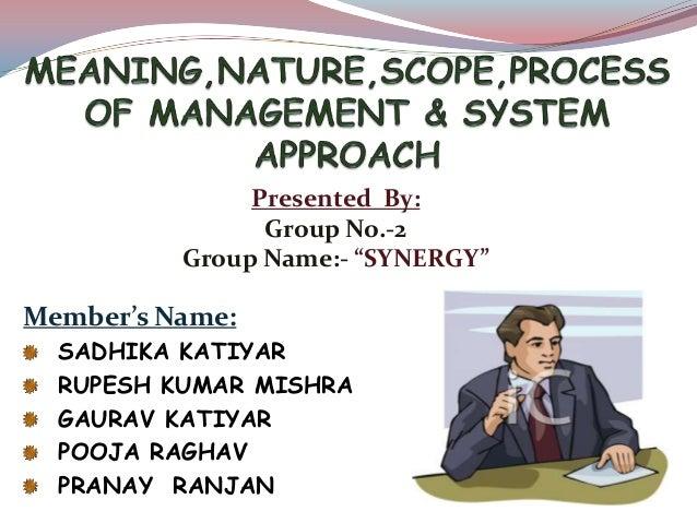 "Presented By: Group No.-2 Group Name:- ""SYNERGY"" Member's Name: SADHIKA KATIYAR RUPESH KUMAR MISHRA GAURAV KATIYAR POOJA R..."