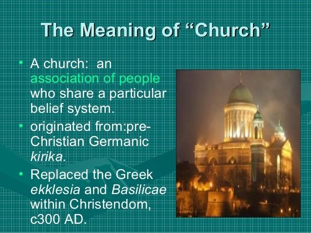 Definition Kirche