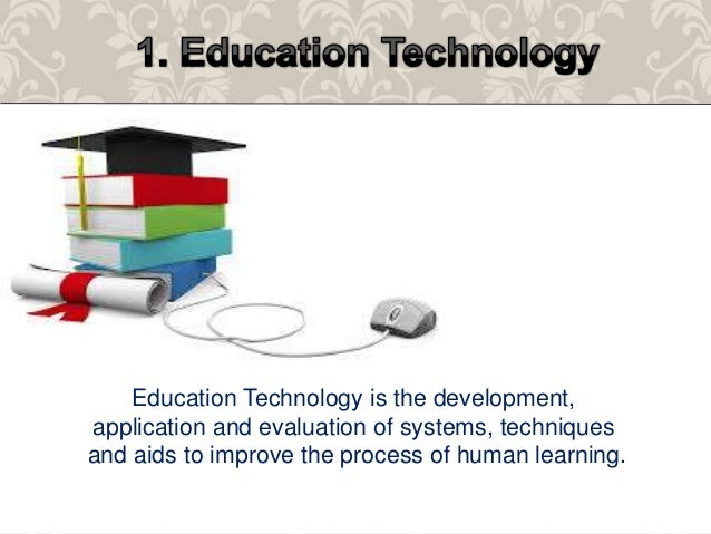 Meaning of education technology lesson 2 the meaning of education technology 2 ccuart