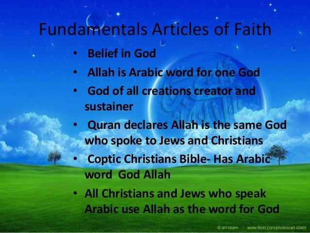 Meaning of islam