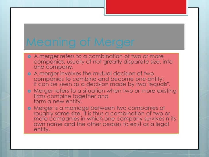 significance of mergers and acquisition in india The process of mergers and acquisitions is not a new to the indian banking the  main objective of this paper is to assess the impact of.