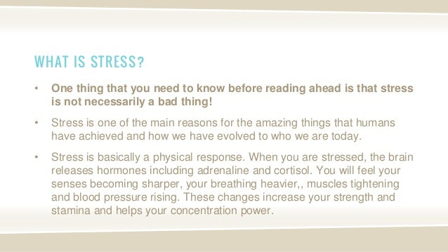 Meaning of Stress, Depression and Anxiety - Definition and Symptoms