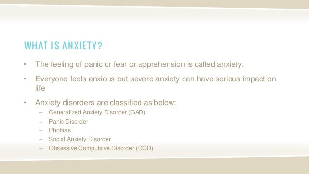 Meaning of Stress, Depression and Anxiety - Definition and ...