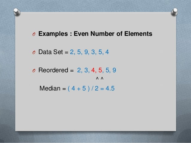 Mean median mode range ppt 18 o to find ccuart Gallery