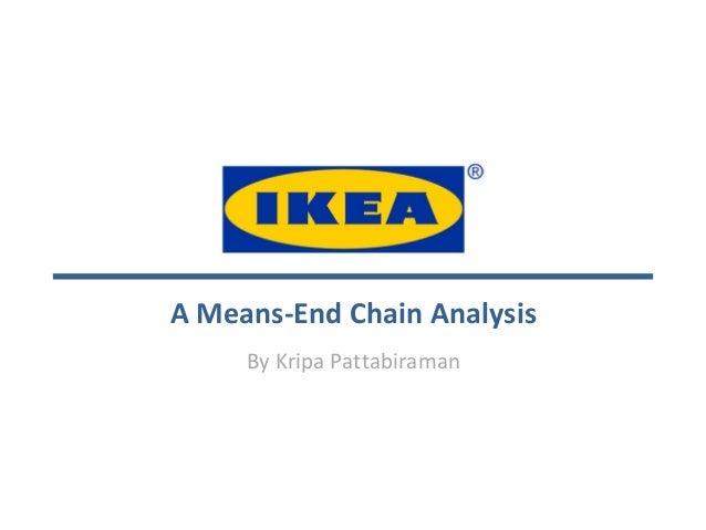 A Means-End Chain AnalysisBy Kripa Pattabiraman