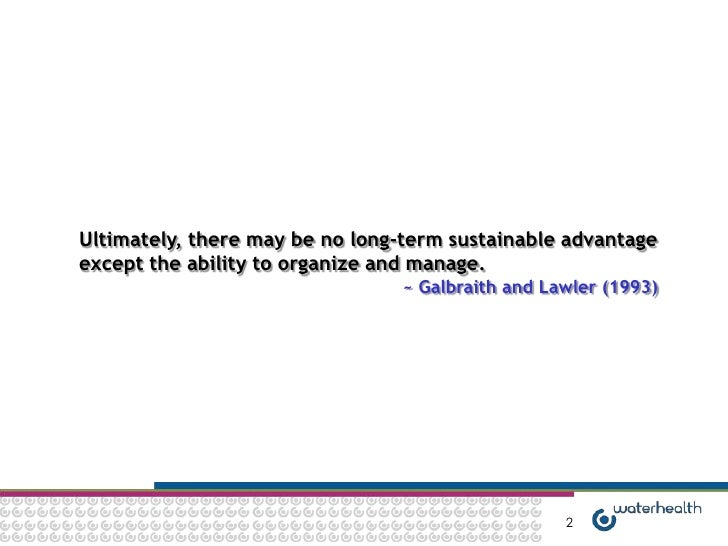 Organization Alignment Slide 2