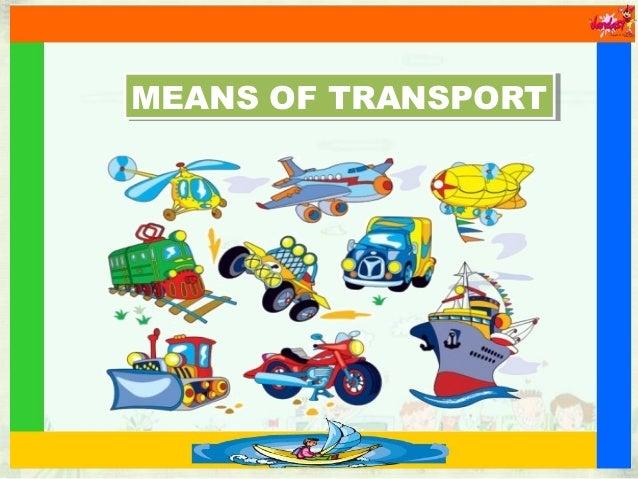 means transport slideshare
