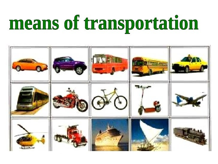 about means of transport