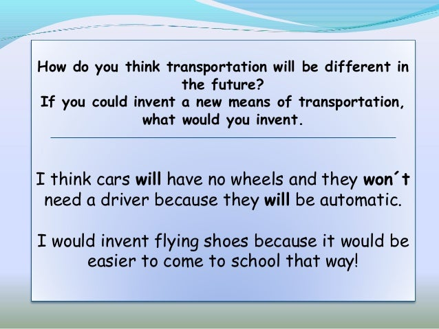 means of transport essay