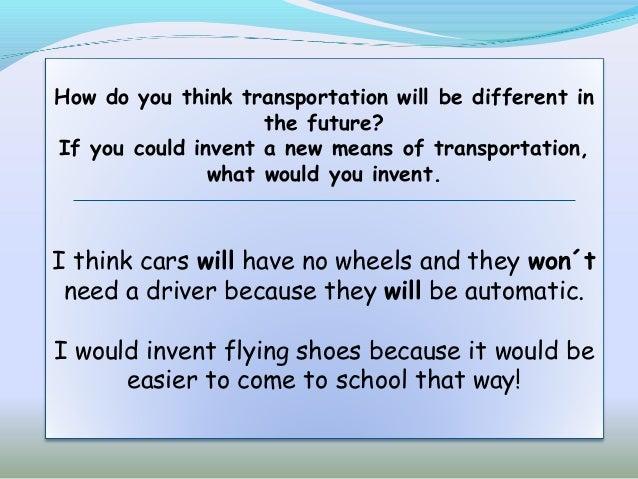 Essay types of transport