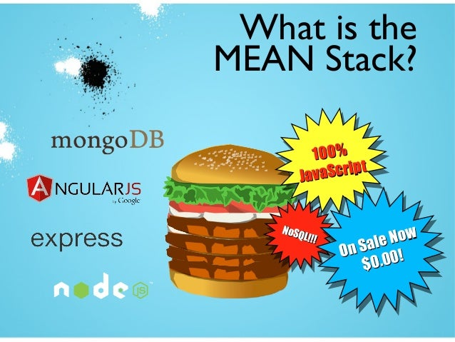 get mean node js and the mean stack