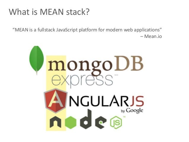 Back End Introduction To The MEAN Stack 9