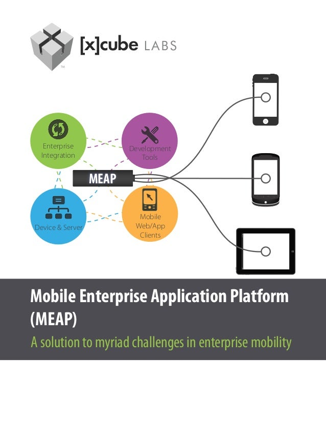Enterprise            Development  Integration               Tools                  MEAP                           MobileD...