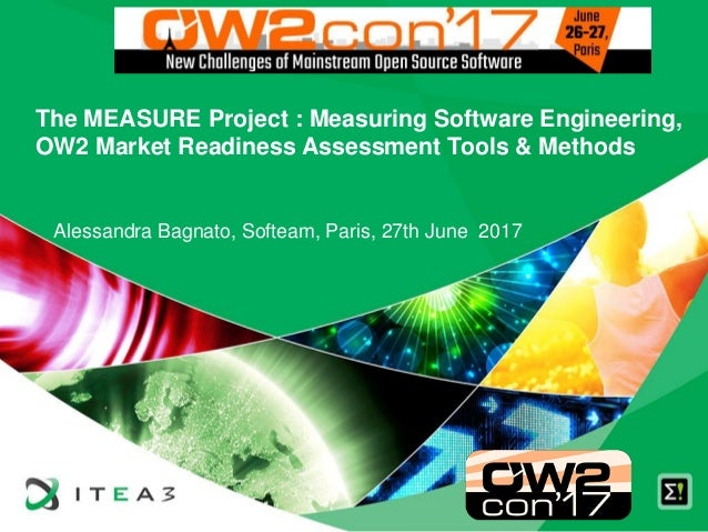 The MEASURE Project : Measuring Software Engineering