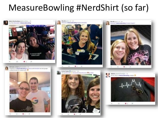 MeasureBowling #NerdShirt (so far)