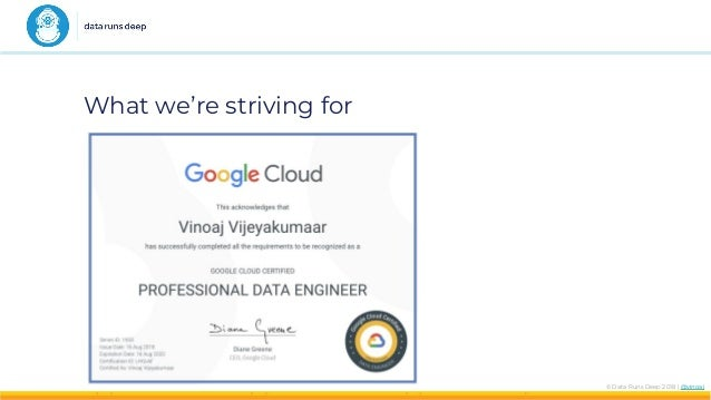 How to pass your Google Cloud Platform Professional Data