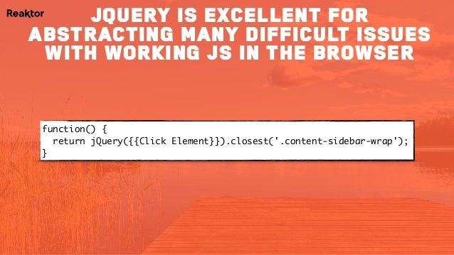 MeasureCamp IX (London) - 10 JavaScript Concepts for web