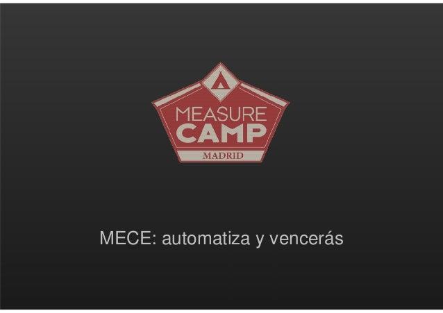 MECE: automatiza y vencerás