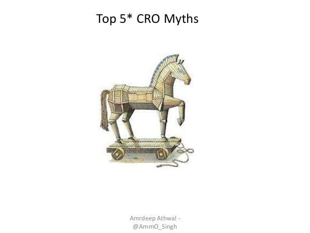 Amrdeep Athwal - @AmmO_Singh Top 5* CRO Myths