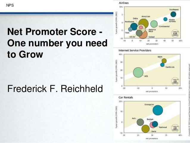 the one number you need to grow by frederick f reichheld essay It was introduced by reichheld in his 2003 harvard business review article one number you need to grow reichheld and markey say the rating and answers to the.