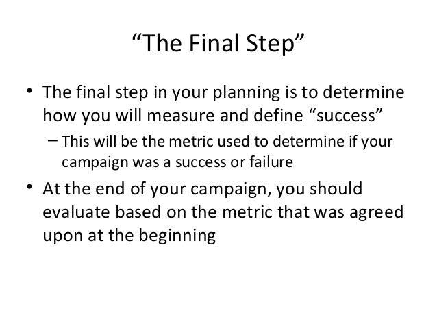 Measurement & Evaluation Slide 3