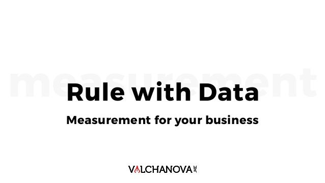 measurementRule with Data Measurement for your business