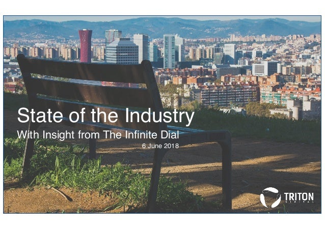 State of the Industry With Insight from The Infinite Dial 6 June 2018