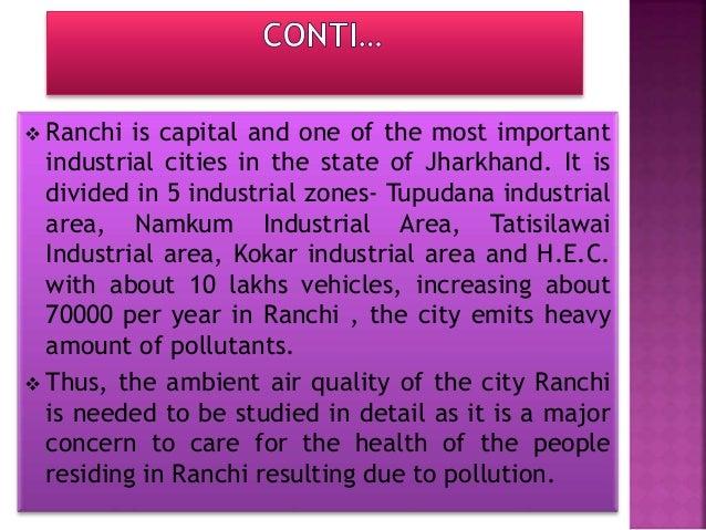 SITE:- Analytical and Environmental Engineering Laboratory Yugantar Bharati, Namkum, Ranchi.
